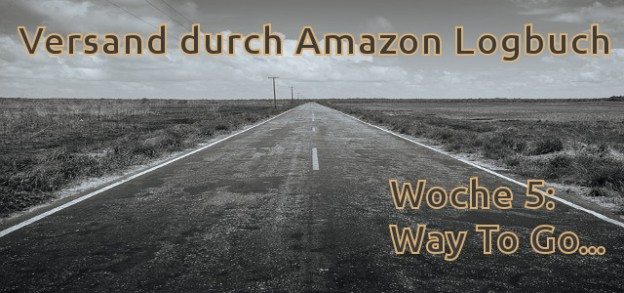 Versand durch Amazon Logbuch - Way To Go