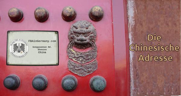 Whitelabel Frachtkonsolidierung in China dank Chinesischer Adresse