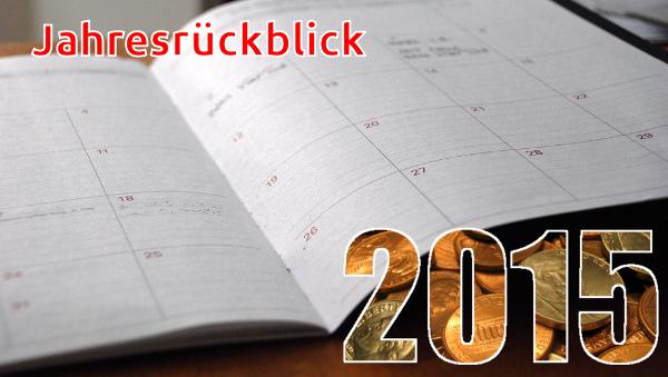 Jahresrücklblick 2015