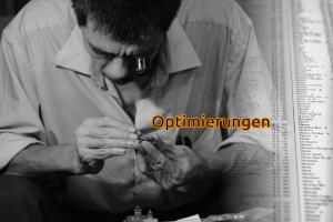 Feinschliff und Optimierungen